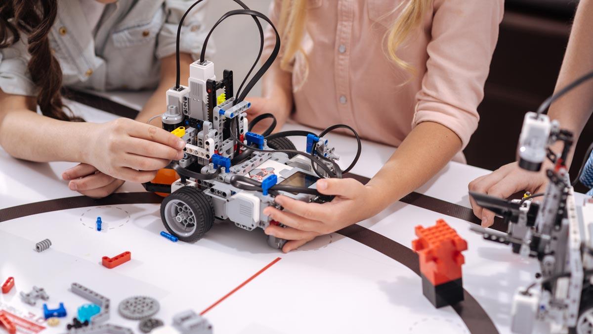 Ateliers de programmation robotique enfants et adolescents